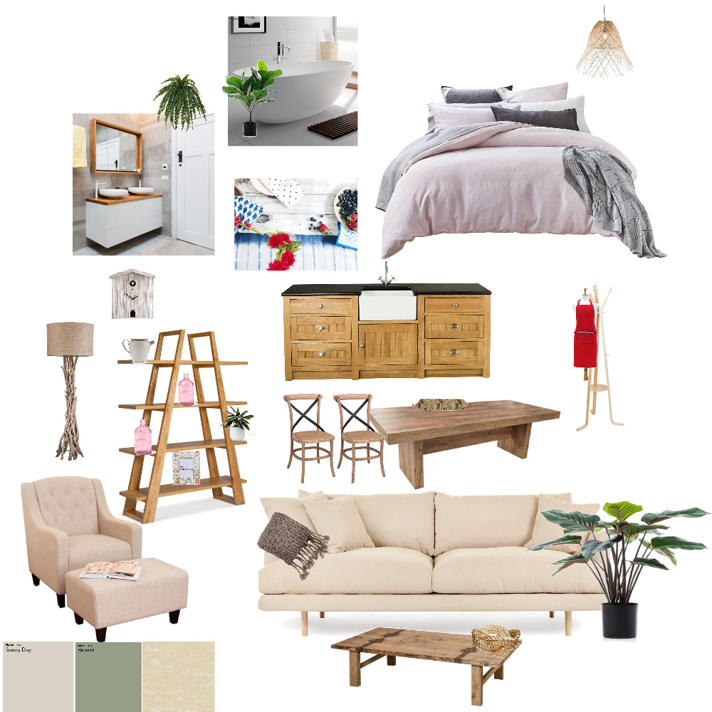 My Country Style Interior Design Mood Board by CountryMouse on Style Sourcebook