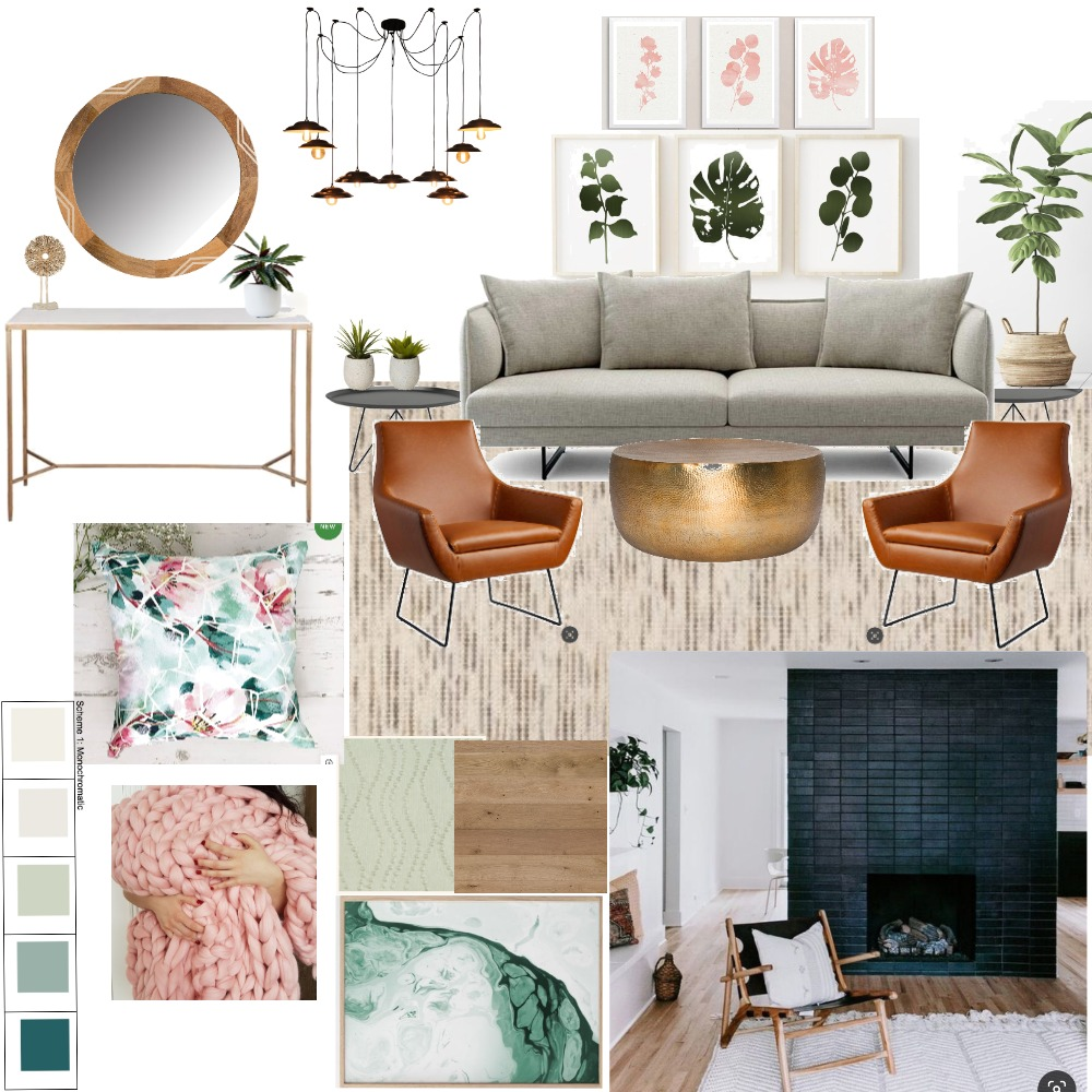 Living room Interior Design Mood Board by rashipriya on Style Sourcebook