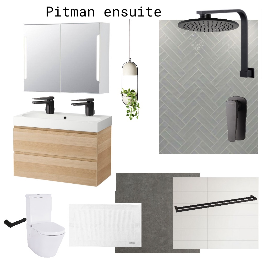 Pitman Ensuite Interior Design Mood Board by jowhite_ on Style Sourcebook