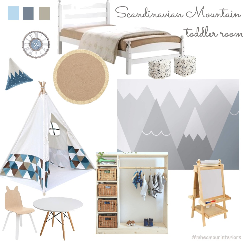 Maxen's Montessori Room Interior Design Mood Board by mheamour on Style Sourcebook