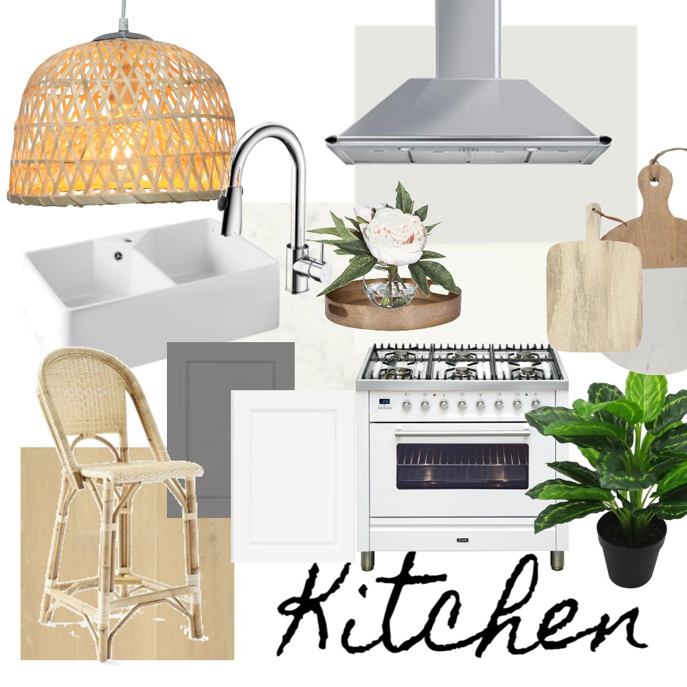 Modern Coastal Kitchen Interior Design Mood Board by LauraMcPhee on Style Sourcebook