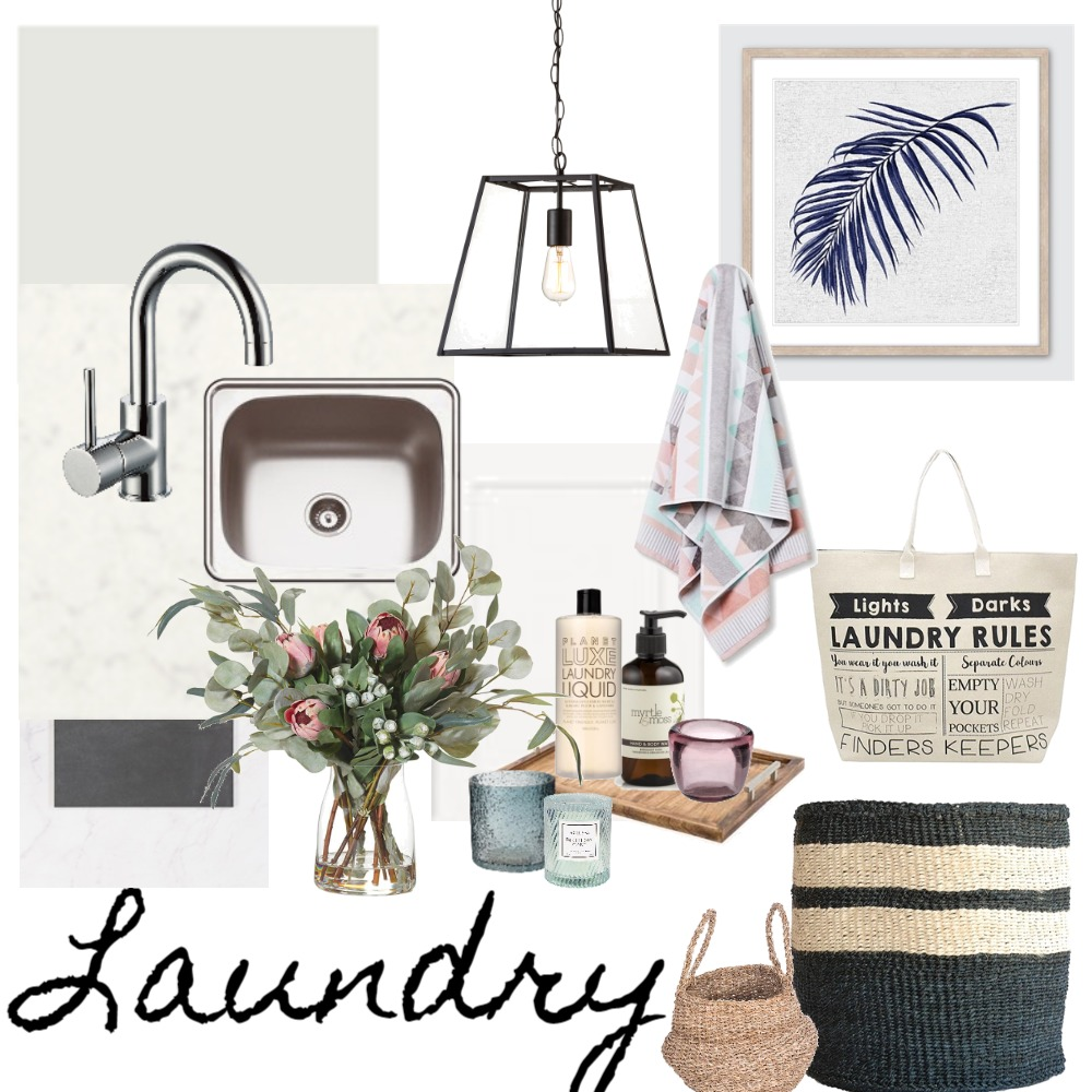Coastal Laundry Lux Interior Design Mood Board by LauraMcPhee on Style Sourcebook
