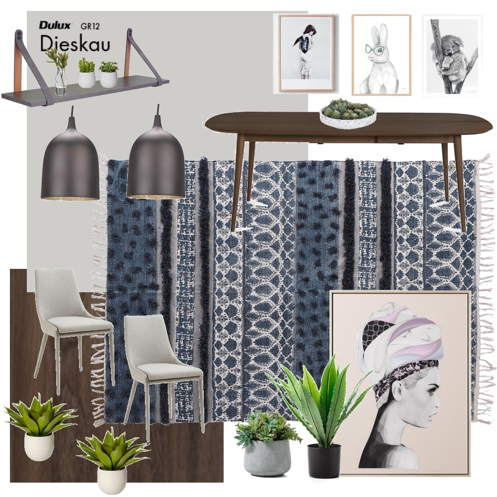 Dining Interior Design Mood Board by kelseawall on Style Sourcebook