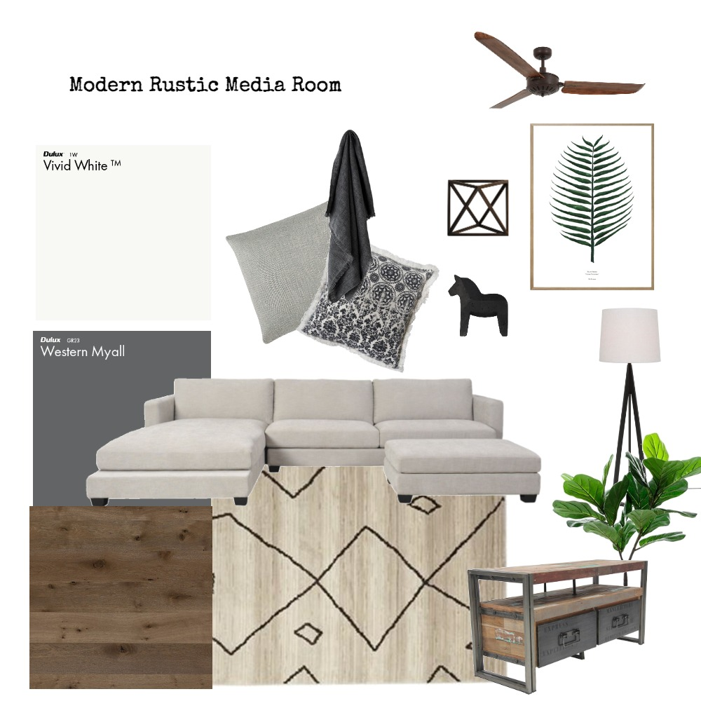 IDI Media Room Interior Design Mood Board by aligndesign on Style Sourcebook