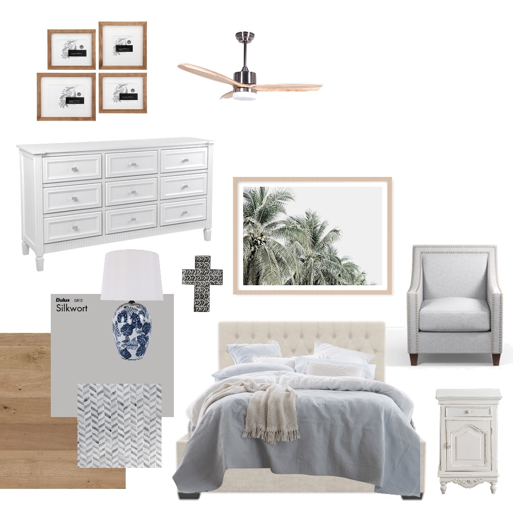 Master Bedroom Interior Design Mood Board by southerninlaw on Style Sourcebook