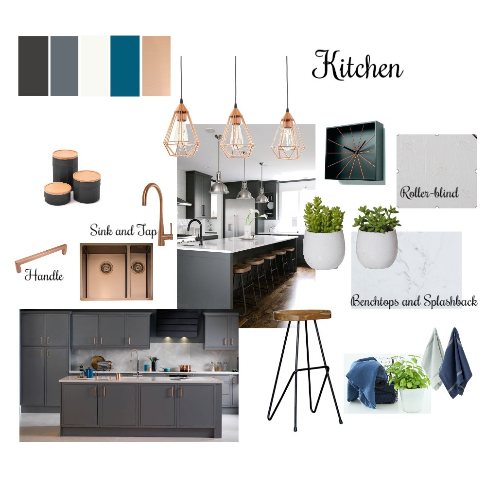 Kitchen Interior Design Mood Board by NAghayan on Style Sourcebook
