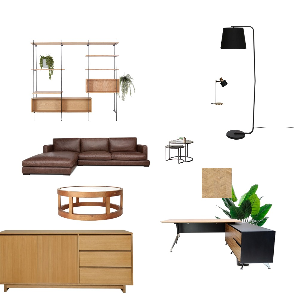 Mod 9 office Interior Design Mood Board by NDD on Style Sourcebook