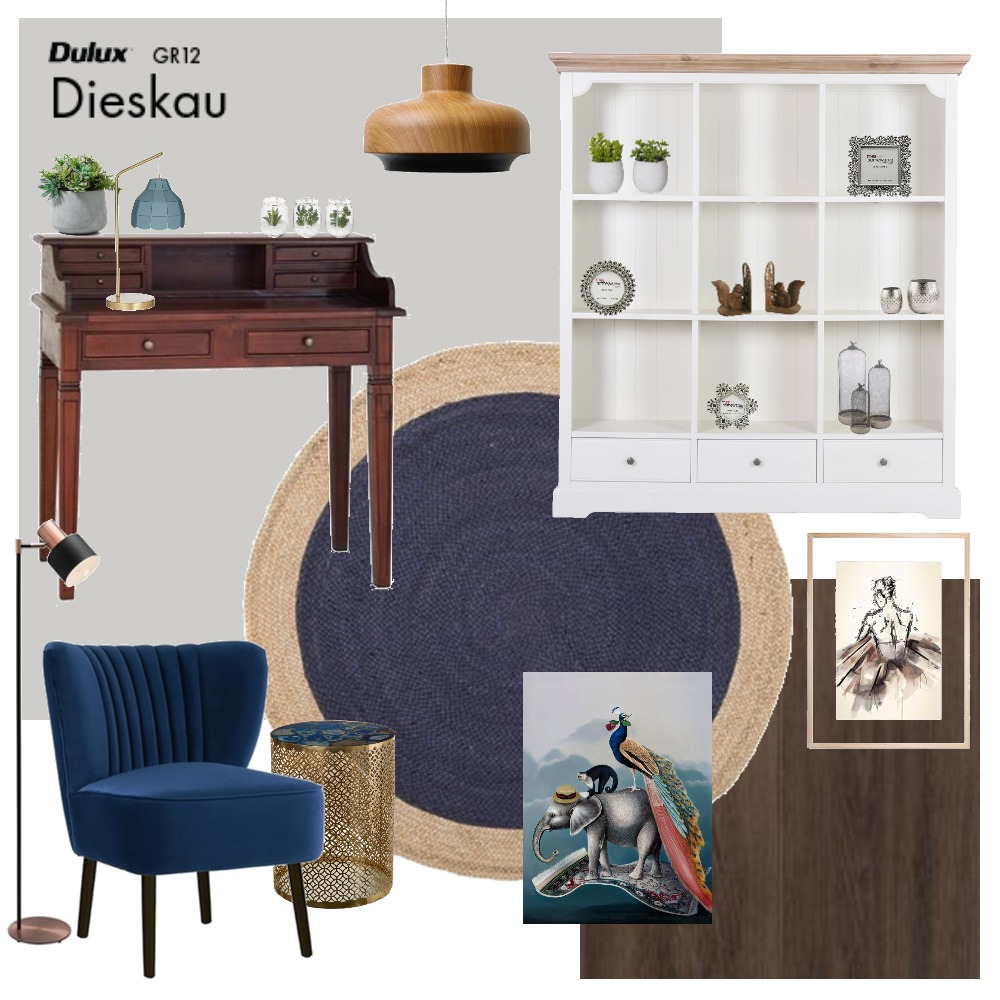 Library Interior Design Mood Board by kelseawall on Style Sourcebook