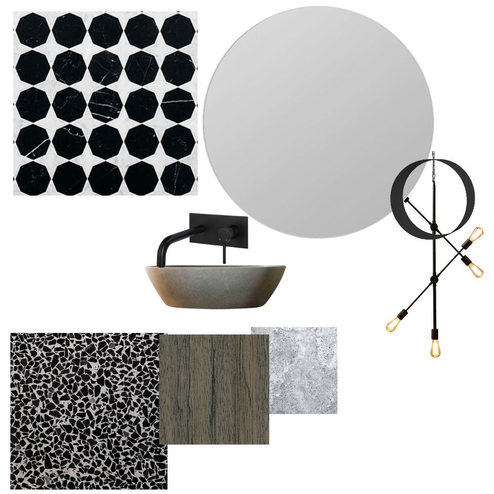 guest toilet downstairs Interior Design Mood Board by gaynoremcarthur on Style Sourcebook