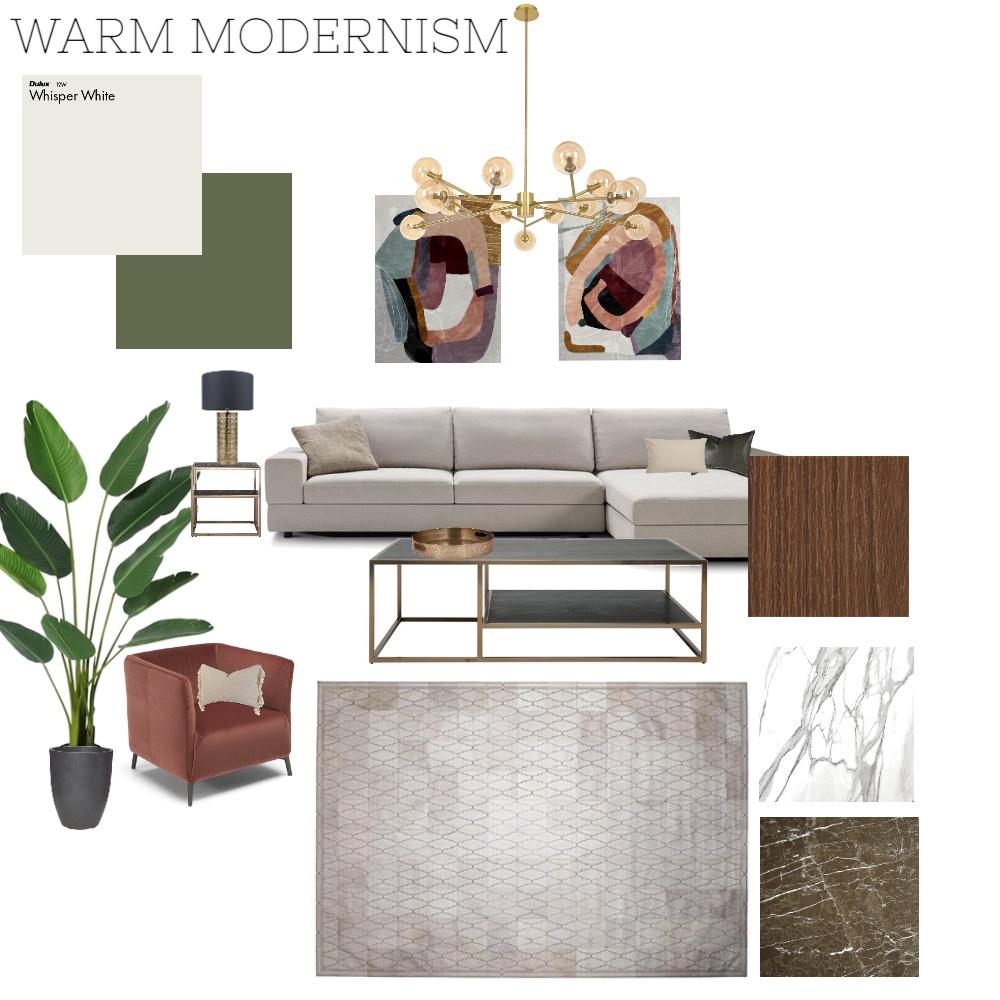 WARM MODERNISM Interior Design Mood Board by martina11 on Style Sourcebook
