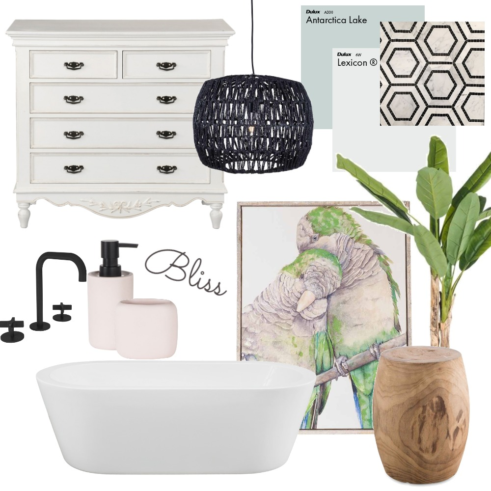 Bathroom Bliss Interior Design Mood Board by heathernethery on Style Sourcebook