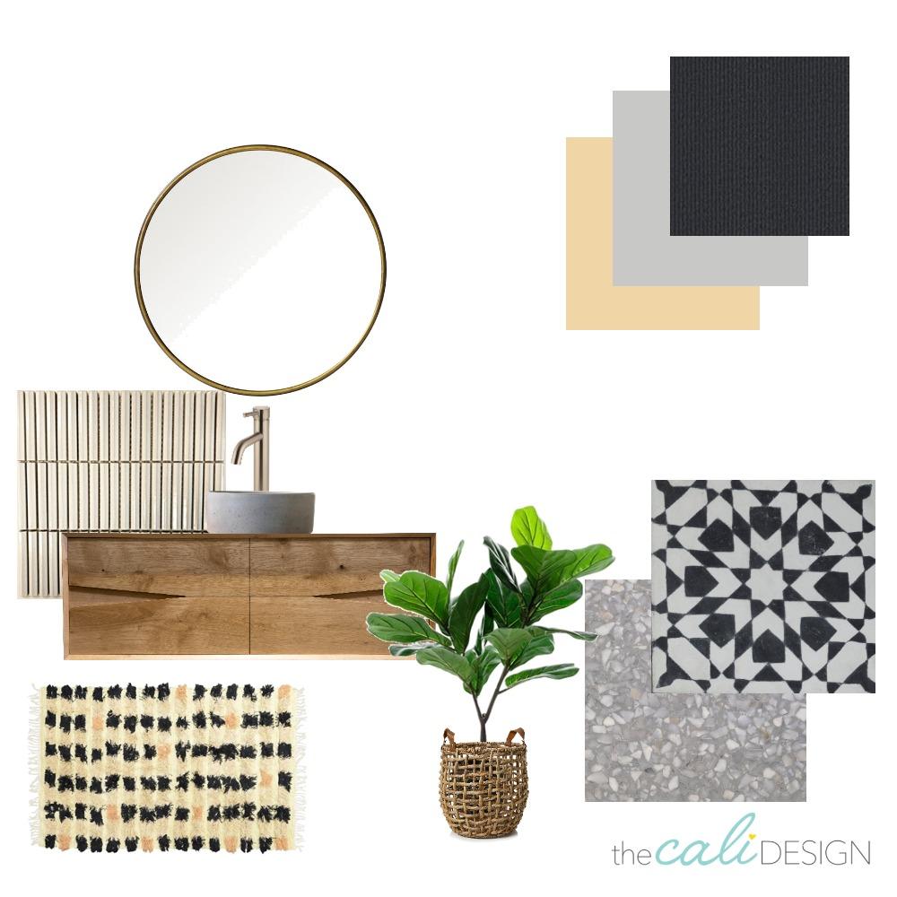 bathroom concept 2 Interior Design Mood Board by The Cali Design  on Style Sourcebook