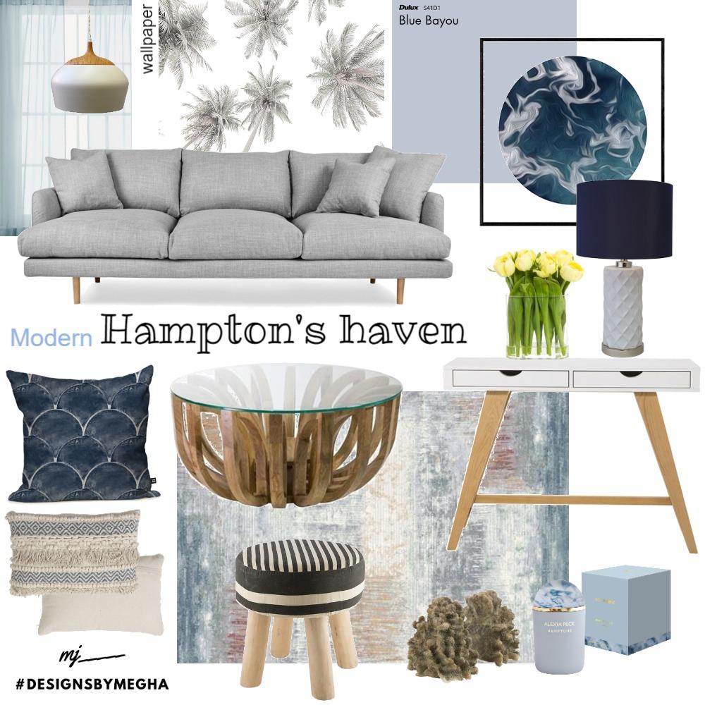 Hampton Style Interior Design Mood Board by Megha on Style Sourcebook