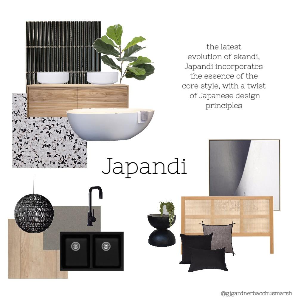 Japandi GJ Interior Design Mood Board by caitlinhamston1992 on Style Sourcebook