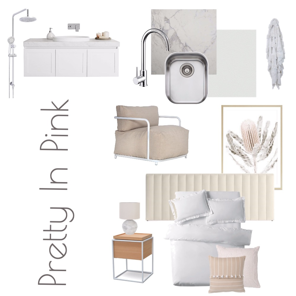 Pretty In Pink GJ Interior Design Mood Board by caitlinhamston1992 on Style Sourcebook