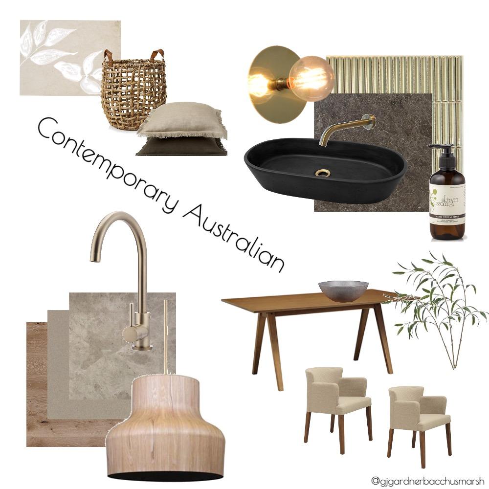 Contemporary Aus GJ Interior Design Mood Board by caitlinhamston1992 on Style Sourcebook