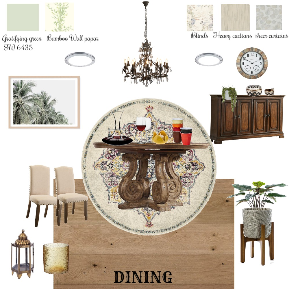 mood board for Dining Interior Design Mood Board by uladha on Style Sourcebook