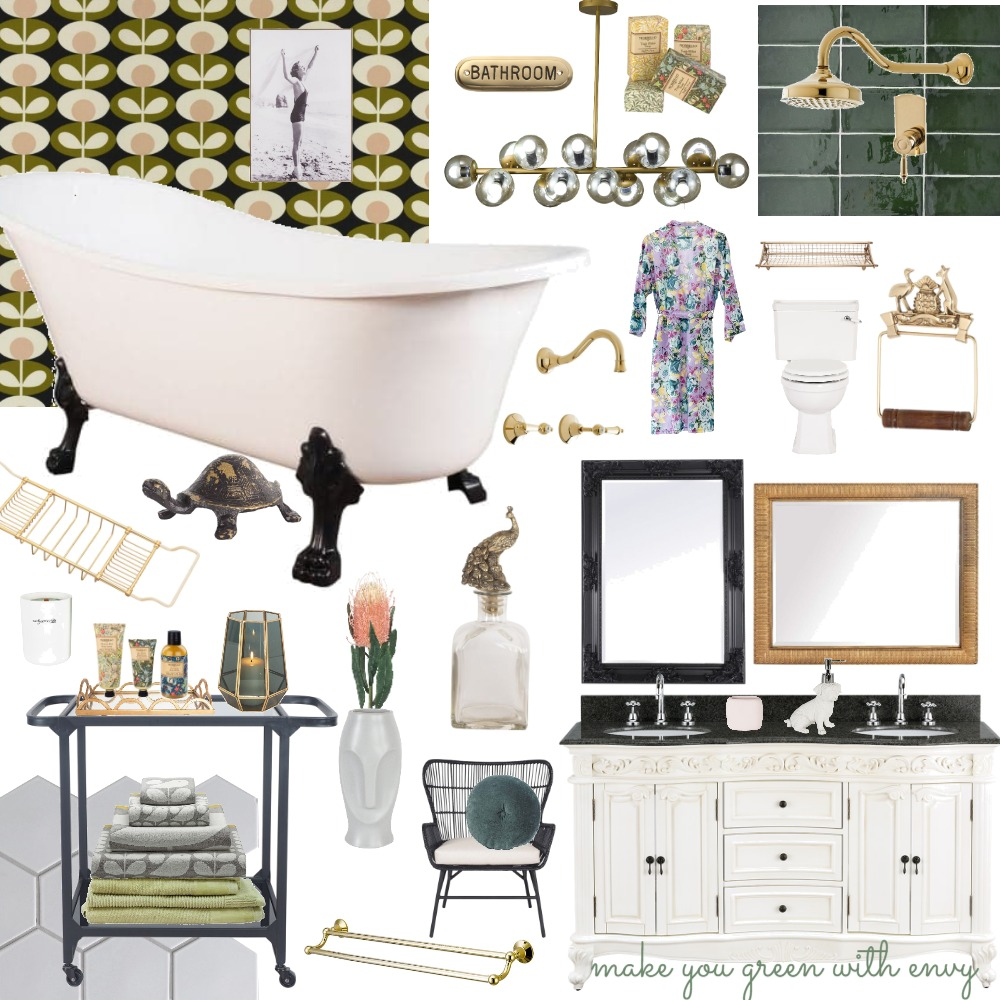 BATHROOMDECOR Interior Design Mood Board by tres_dope on Style Sourcebook