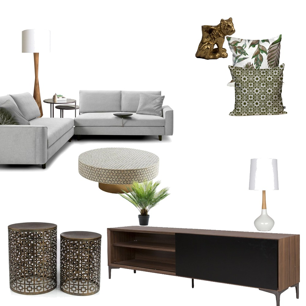 Living Room Interior Design Mood Board by NDD on Style Sourcebook