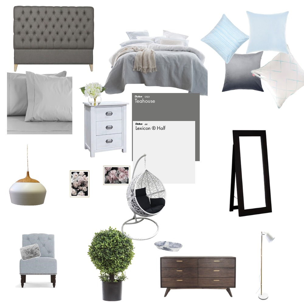 Bed-room Interior Design Mood Board by htimm14 on Style Sourcebook