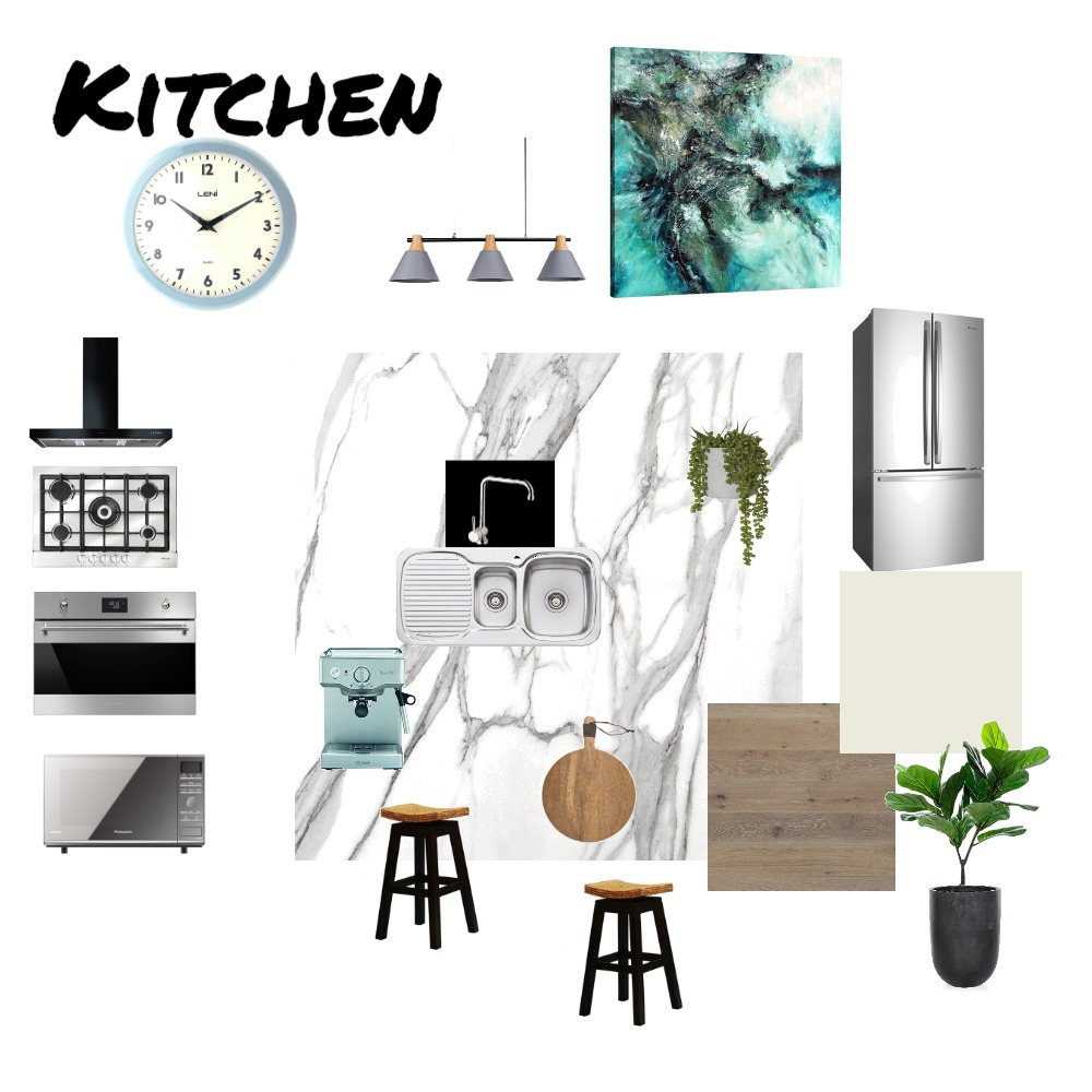 Kitchen Interior Design Mood Board by Mingle on Style Sourcebook