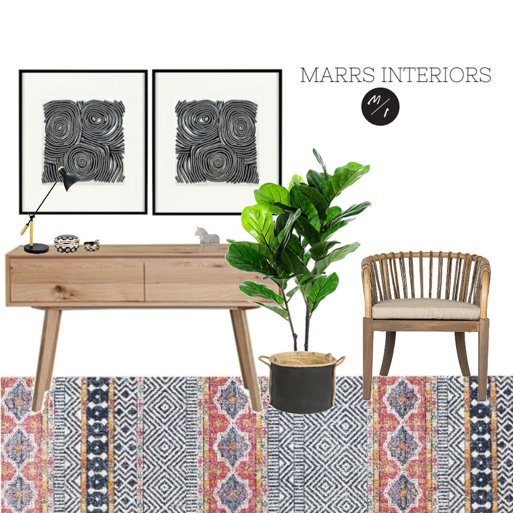 Hallway Interior Design Mood Board by marrsinteriors on Style Sourcebook