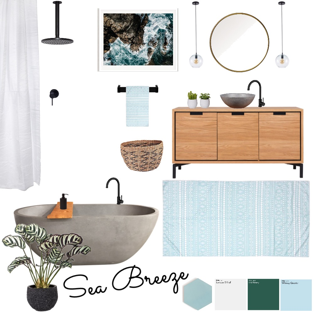 blue breeze Interior Design Mood Board by imogenmanning on Style Sourcebook
