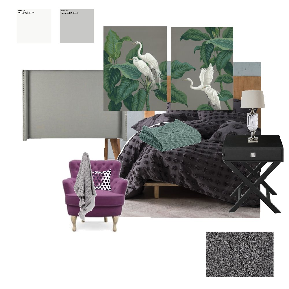 Master bedroom.  Broadbent.  1 Interior Design Mood Board by Julieevely on Style Sourcebook