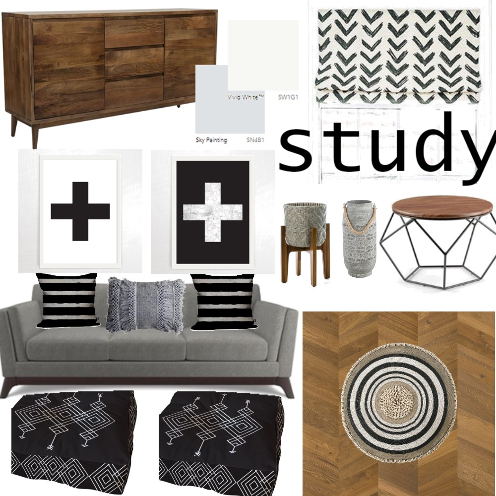 module9study Interior Design Mood Board by RoseTheory on Style Sourcebook