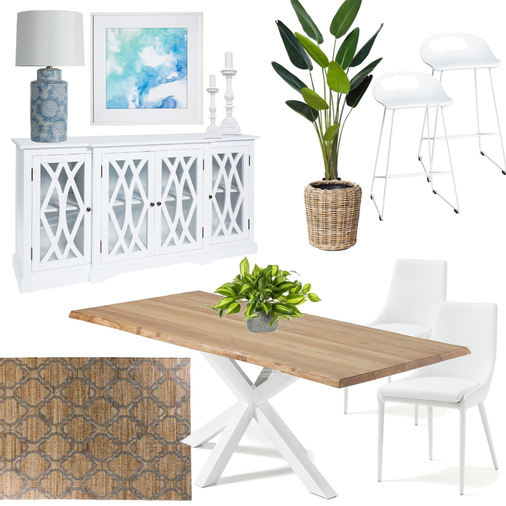 Babbler Court Dining Room v7 Interior Design Mood Board by janggalay on Style Sourcebook