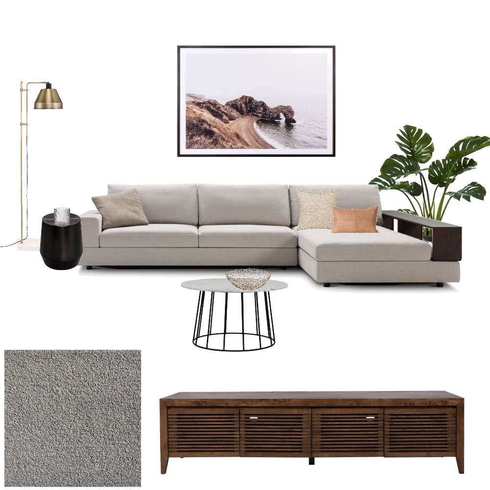 Lane cove Lounge in walnut Interior Design Mood Board by Stylinglife on Style Sourcebook