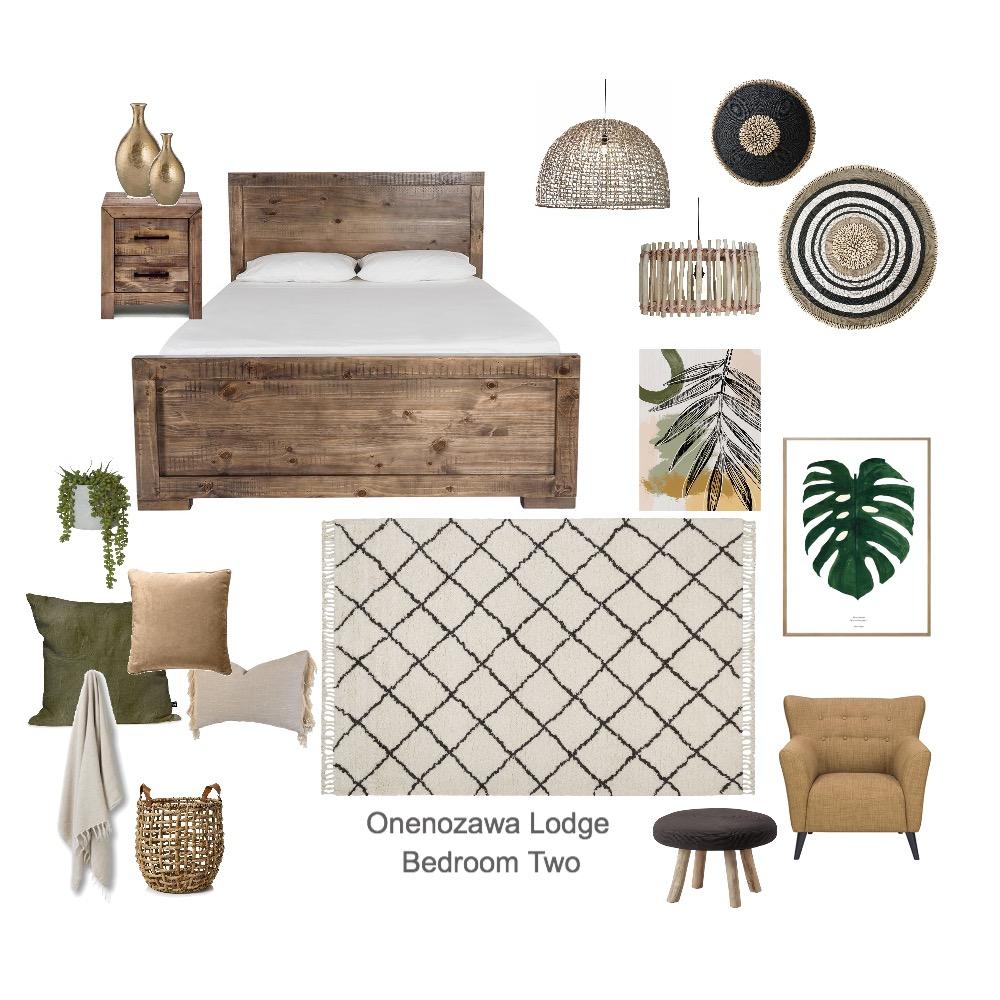 Onenozawa Lodge Bedroom Two Interior Design Mood Board by aliceandloan on Style Sourcebook