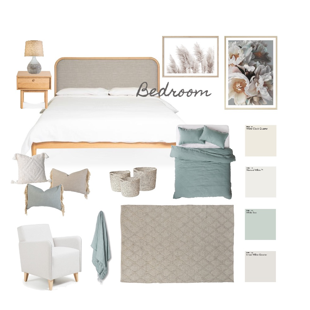 Bedroom Interior Design Mood Board by aliceandloan on Style Sourcebook