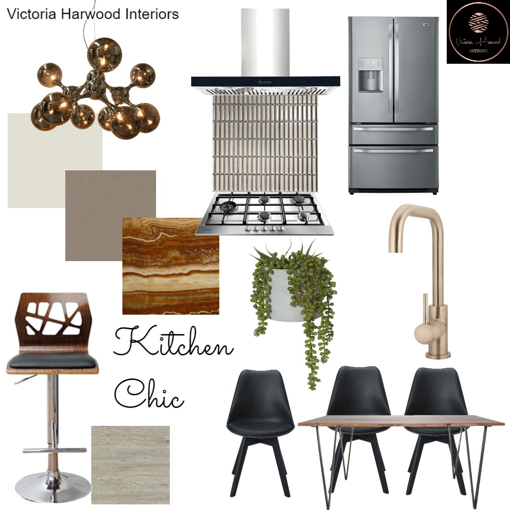 Kitchen Chic Interior Design Mood Board by Victoria Harwood Interiors on Style Sourcebook