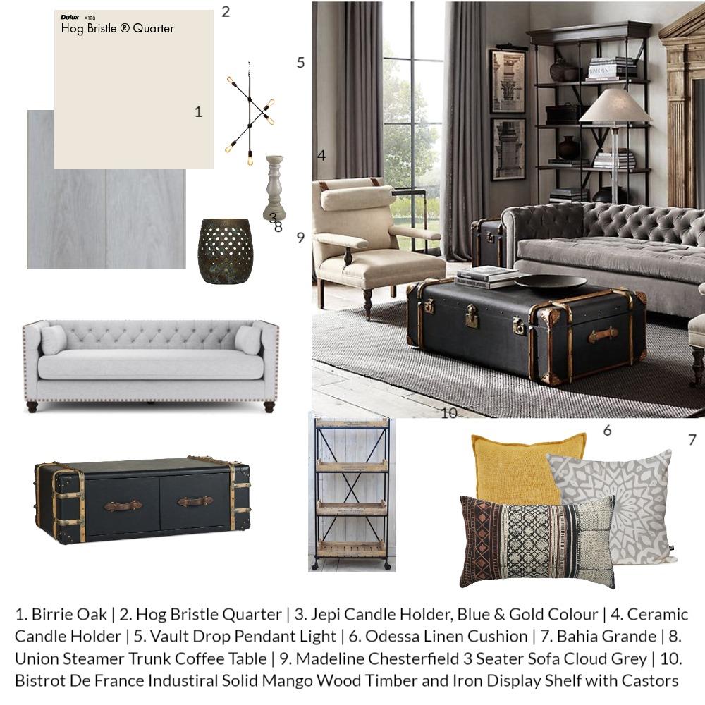 4 Mood Board LIVING Interior Design Mood Board by ancasebok on Style Sourcebook