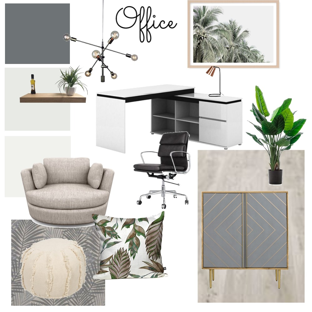 Office Moodboard mod 9 Interior Design Mood Board by JustinaB on Style Sourcebook