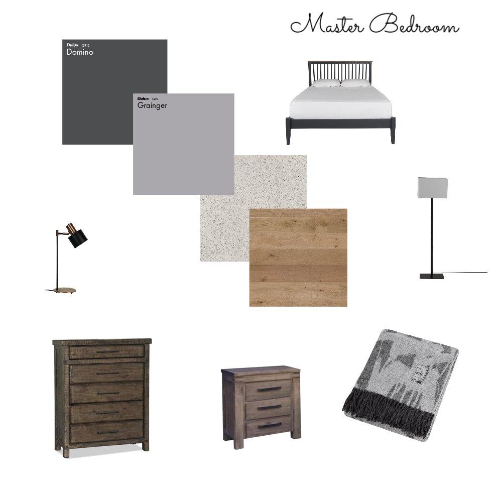 Master bedroom IDI-Module 9 ~2 Interior Design Mood Board by Interior Living Designs  on Style Sourcebook