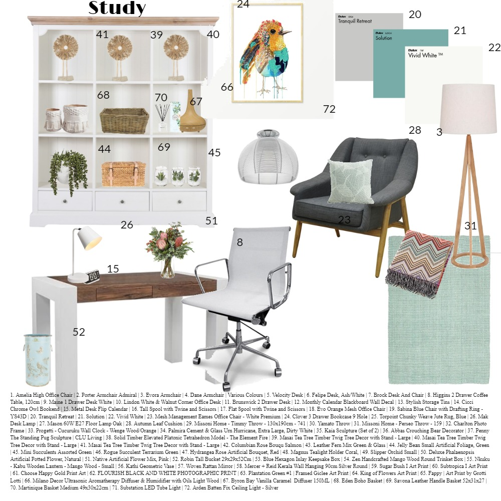 STUDY ASS 9 Interior Design Mood Board by lyndee on Style Sourcebook