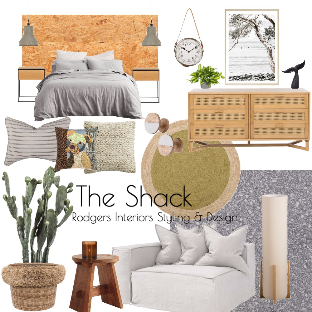 The Shack Interior Design Mood Board by Rodgers Interiors Styling & Design on Style Sourcebook