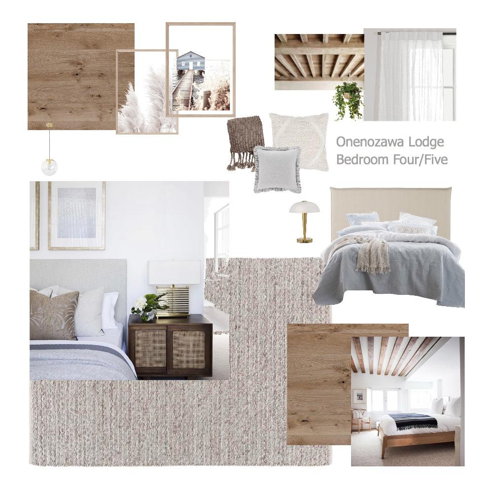 Onenozawa Lodge Bedroom Four/Five Interior Design Mood Board by aliceandloan on Style Sourcebook