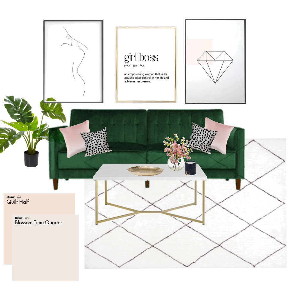 Kelsi's Office Wall 1 Interior Design Mood Board by PaigeMulcahy16 on Style Sourcebook