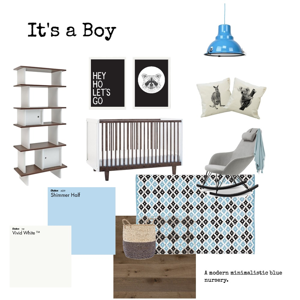 It's a Boy Interior Design Mood Board by aligndesign on Style Sourcebook