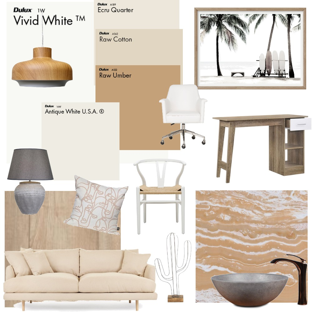 modul 6 concept 1 neutral Interior Design Mood Board by kathrinredl on Style Sourcebook