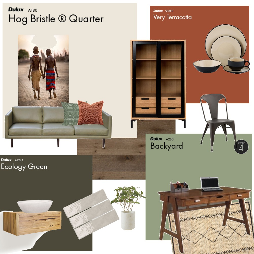 modul 6 concept 2 colour Interior Design Mood Board by kathrinredl on Style Sourcebook