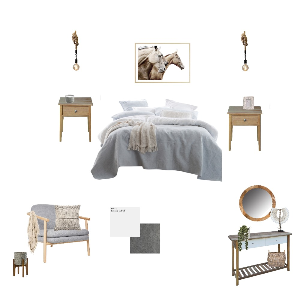 Bed 1 Interior Design Mood Board by Starmeg on Style Sourcebook