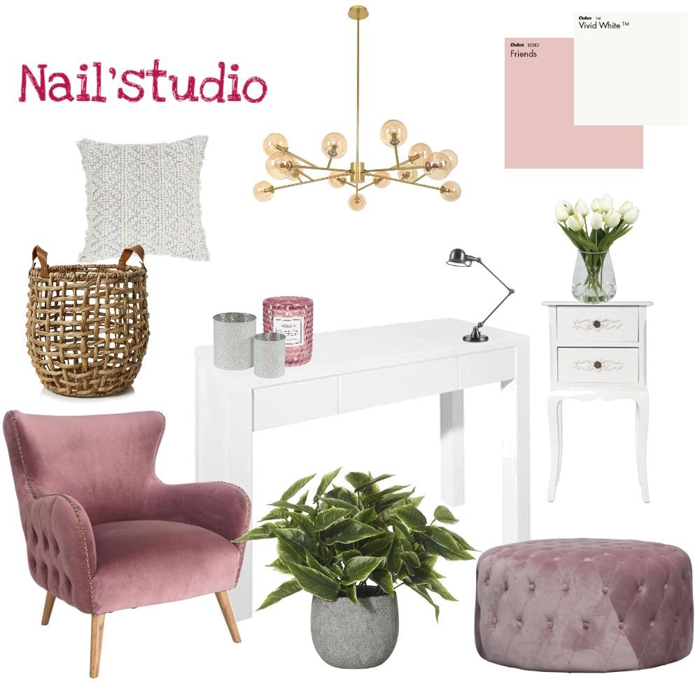 nails studio Interior Design Mood Board by almogzipori on Style Sourcebook