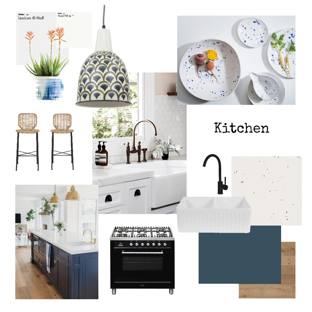 Kitchen ID course Interior Design Mood Board by LindaBullen on Style Sourcebook
