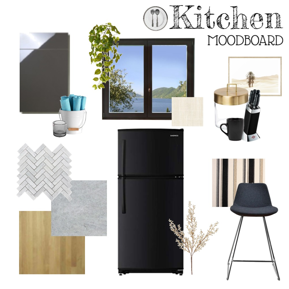 Kitchen Moodboard Interior Design Mood Board by micaherbon on Style Sourcebook