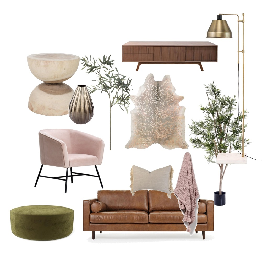 Neutral Lounge Interior Design Mood Board by Cevans on Style Sourcebook