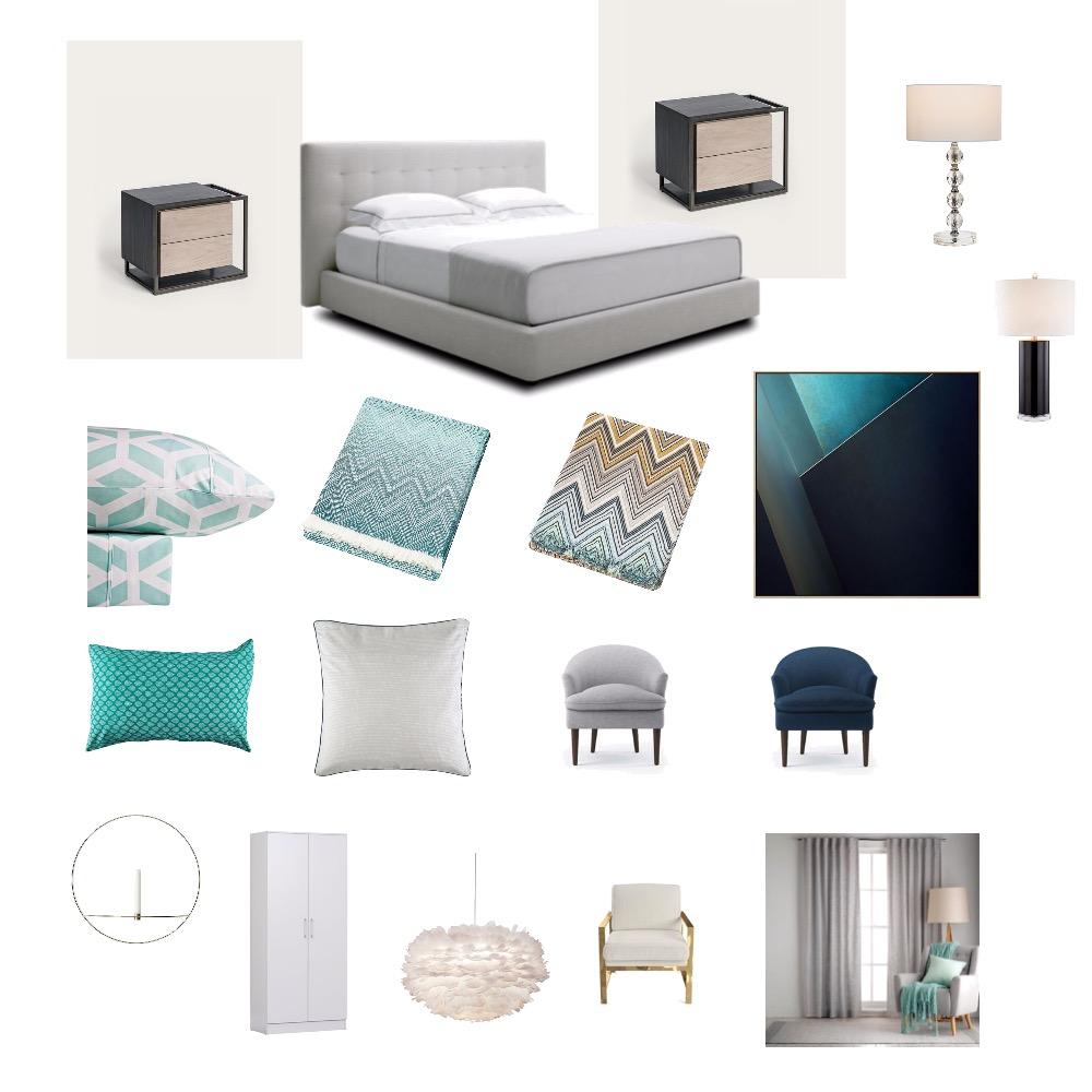 Bedroom mood board Interior Design Mood Board by JXsuper on Style Sourcebook